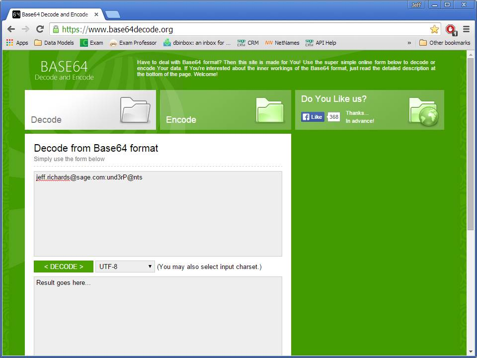 Sage CRM's RESTful API: SData (Part 3 of 10) - Hints, Tips and