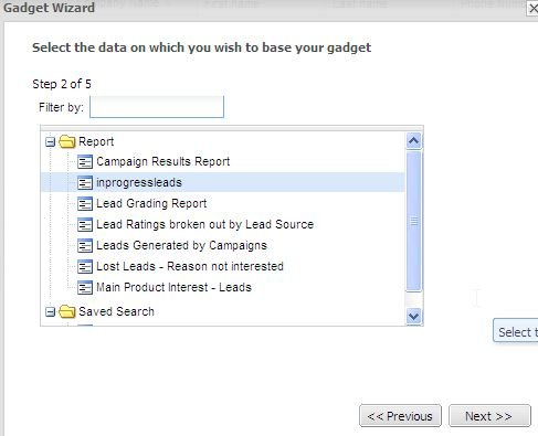 Viewing My Leads on the Interactive Dashboard - The Sage CRM Blog