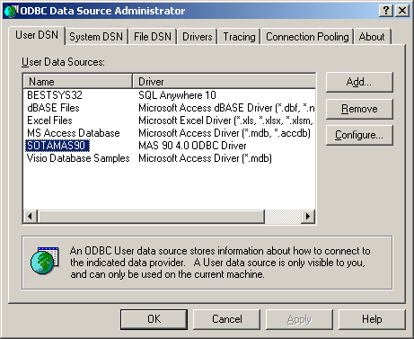 PROVIDEX ODBC DRIVER FOR PC