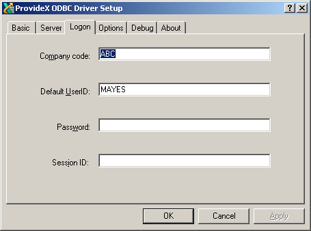 Connecting to an External ODBC database e g  Sage 100cloud