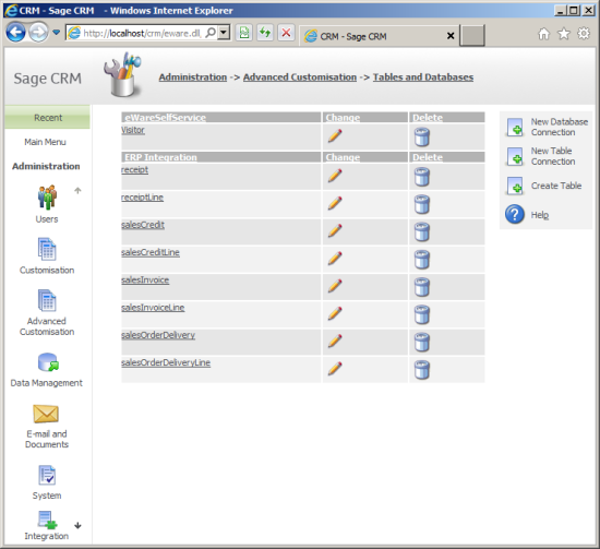 Creating A New Database Connection To Sage Business Cloud Enterprise