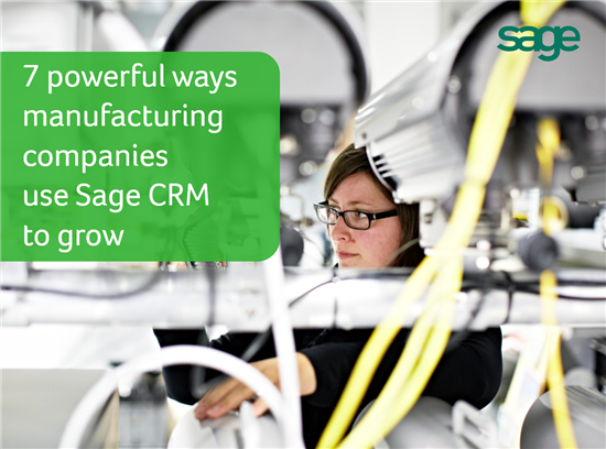 manufacturing and CRM