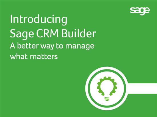 Sage CRM Builder