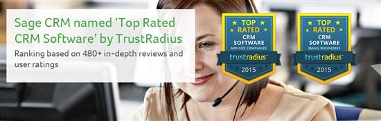 Trust Radius awards Sage CRM