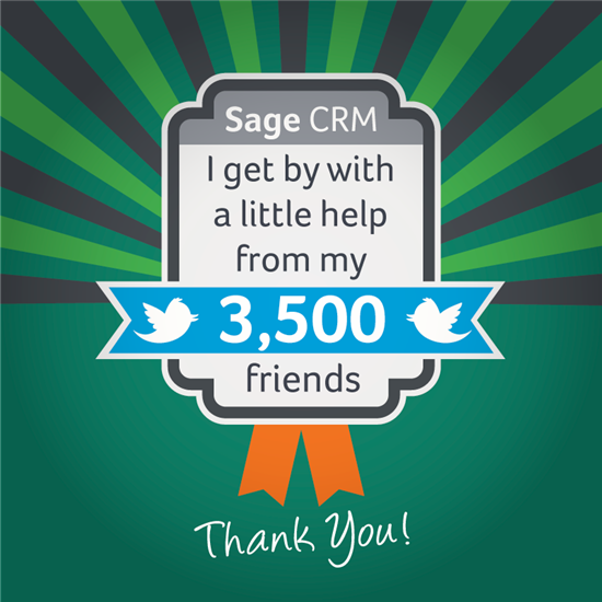 Sage CRM on Twitter