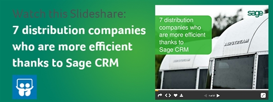 SlideShare of Sage CRM
